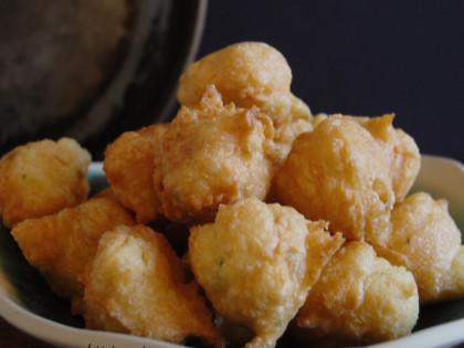 Bunyols de bacallà (amb pasta choux)